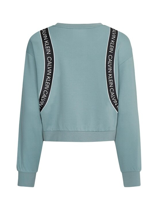 Calvin Klein Performance - Cropped Pullover -collegepaita - GREEN | Stockmann - photo 2
