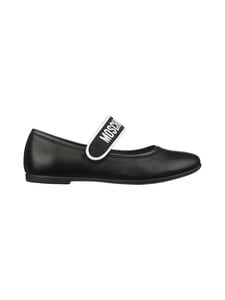 Moschino - MARY JANE -ballerinat - BLACK/WHITE | Stockmann