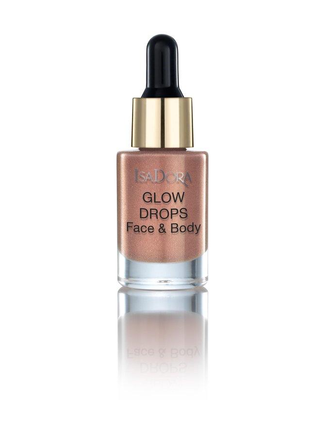 Glow Drops Face Body Golden Edition -nestemäiset hohdetipat 15 ml