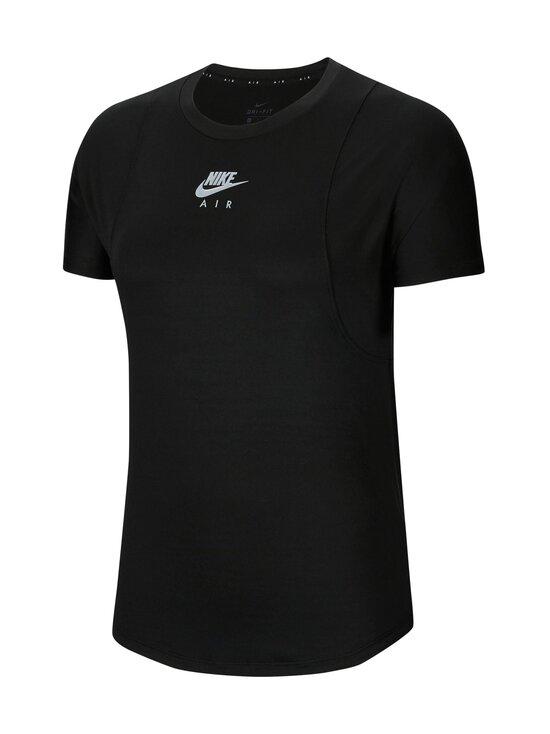 Nike - Air Top SS -treenipaita - 010 BLACK/REFLECTIVE SILV | Stockmann - photo 1