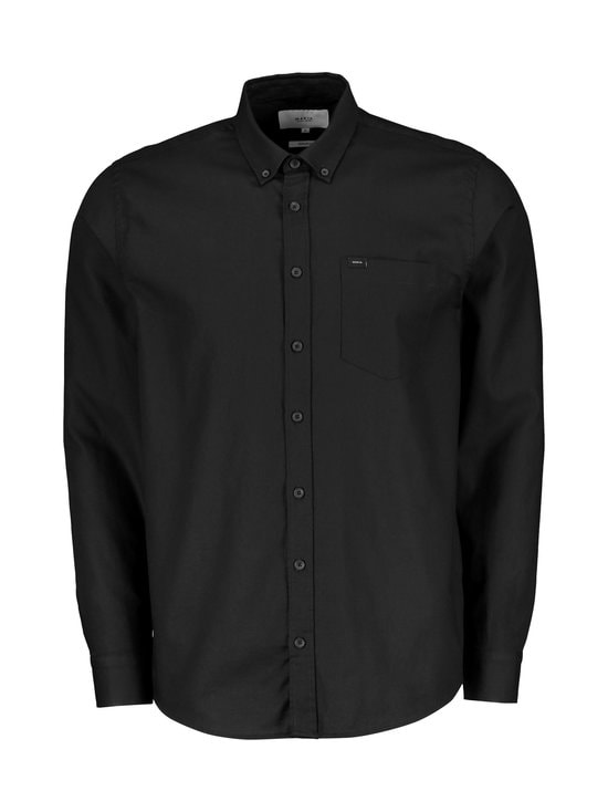 Makia - Flagship Regular Fit -kauluspaita - BLACK | Stockmann - photo 1