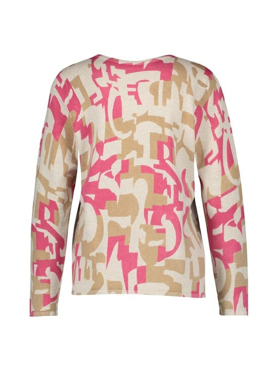 GERRY WEBER CASUAL - Puuvillaneule - 3099 LILA/PINK/ WHITE | Stockmann - photo 2
