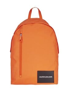 Calvin Klein Bags & Accessories - Recycled Polyester Round Backpack -reppu - VIVID ORANGE | Stockmann