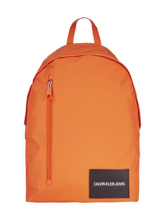 Calvin Klein Bags & Accessories - Recycled Polyester Round Backpack -reppu - VIVID ORANGE | Stockmann - photo 1