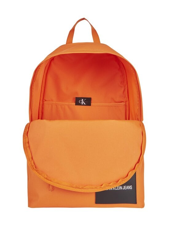 Calvin Klein Bags & Accessories - Recycled Polyester Round Backpack -reppu - VIVID ORANGE | Stockmann - photo 3