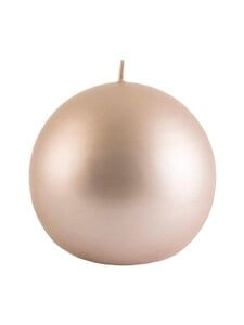 Balmuir - Glitter-pallokynttilä 10 cm - 580 SANDSHELL | Stockmann