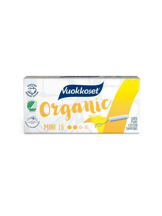 Organic Tampon Mini -tamponi 16 kpl