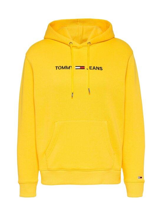 Tommy Jeans - TJW Linear Logo Hoodie -huppari - ZGQ STAR FRUIT YELLOW   Stockmann - photo 1