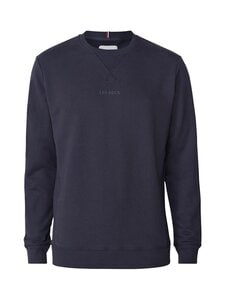 Les Deux - Lens Sweatshirt -collegepaita - 460201-DARK NAVY/WHITE | Stockmann