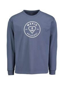 Makia - Knot Long Sleeve -paita - 643 VINTAGE INDIGO | Stockmann