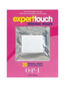 O.P.I. - Expert Touch -foliolaput kynsilakan poistoon 20 kpl | Stockmann