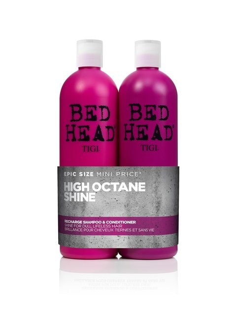 Bed Head Tweens Recharge High Octane Shine -shampoo ja hoitoaine 2 x 750 ml