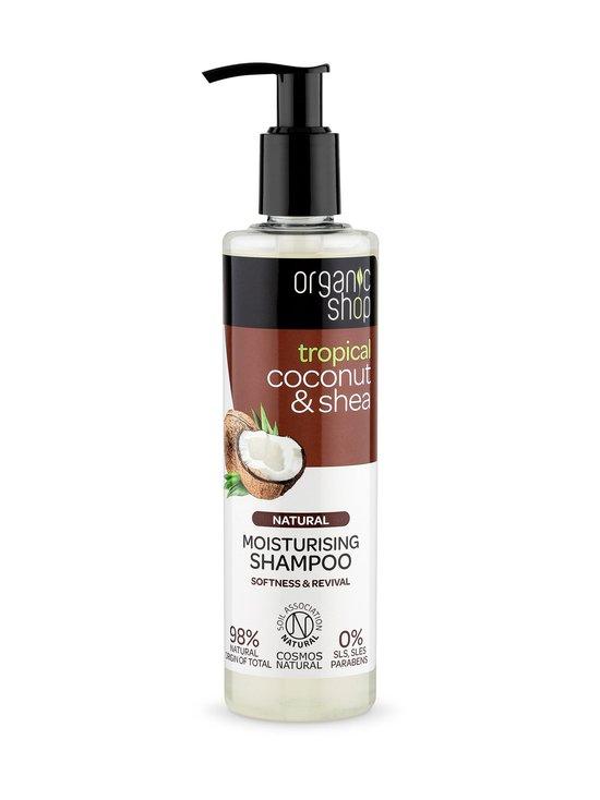 Organic Shop - Coconut & Shea Moisturizing Shampoo 280 ml - NOCOL   Stockmann - photo 1