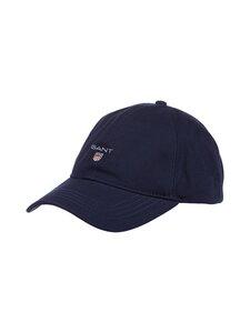 GANT - Cotton Twill Cap -lippalakki - 410 MARINE | Stockmann