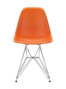 Vitra - Eames DSR -tuoli - 01 CHR/RUSTY ORANGE 43 | Stockmann