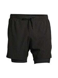 Superdry Sport - Double Layer -treenishortsit - 02A BLACK | Stockmann