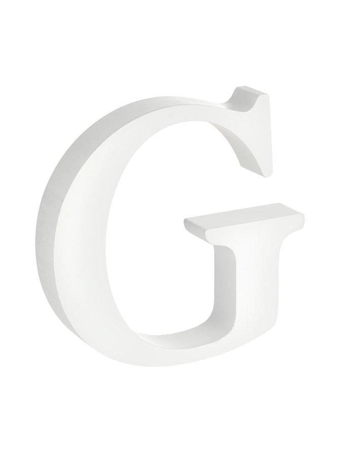 Puukirjain G
