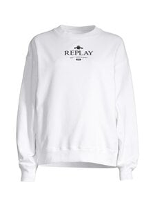Replay - Collegepaita - 001 WHITE   Stockmann