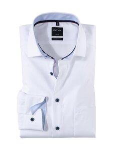 Olymp - Luxor Modern Fit XL Sleeve -kauluspaita - 00 WHITE   Stockmann