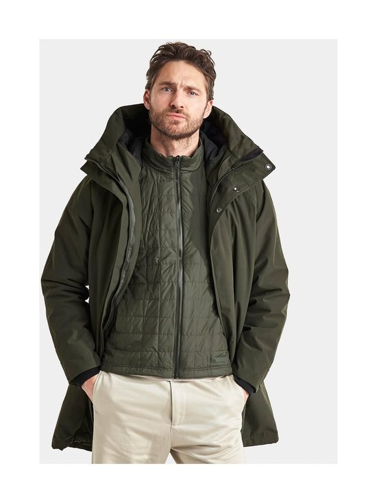 Didriksons - Gunnar-parka - 447 FOREST GREEN | Stockmann - photo 8