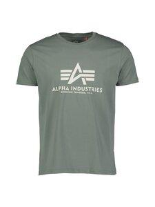 Alpha Industries - T-paita - 432 VINTAGE GREEN | Stockmann