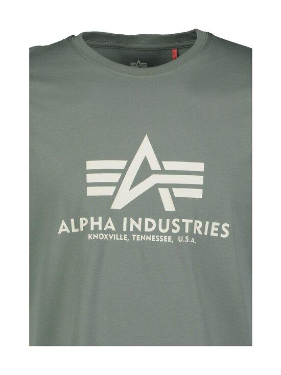 Alpha Industries - T-paita - 432 VINTAGE GREEN   Stockmann - photo 3