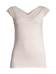 Rosemunde - V-Neck Top -paita - 050 SOFT POWDER | Stockmann