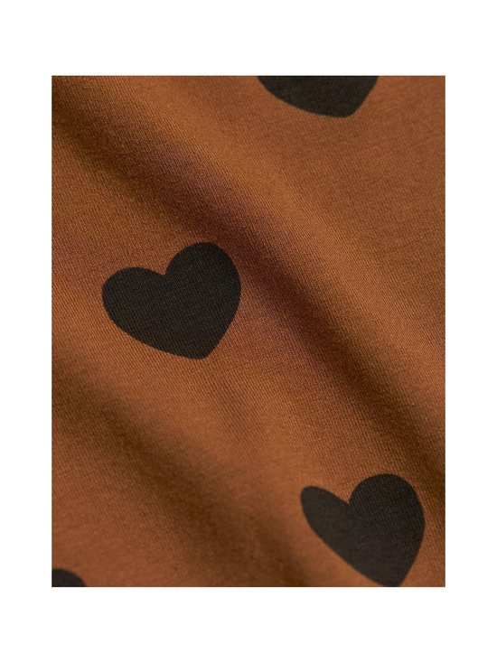 Mini Rodini - Hearts-leggingsit - BROWN | Stockmann - photo 3