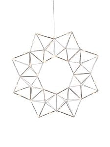 Star - Edge-valokranssi ø 40 cm - CHROME (HOPEA) | Stockmann