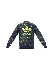 adidas Originals - Crew Army Printed -collegepaita - NGTSKY/MULTCO | Stockmann