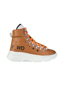 F_WD - High Top Chunky Sole -sneakerit - 509 CARAMEL / BLACK / WHITE | Stockmann