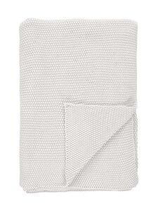 Marc O'Polo Home - Nordic Knit Plaid -huopa 130 x 170 cm - OFF WHITE | Stockmann