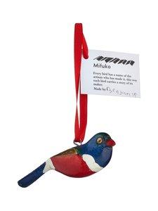 Mifuko - Lintu-joulukoriste - PUNAINEN/SININEN | Stockmann