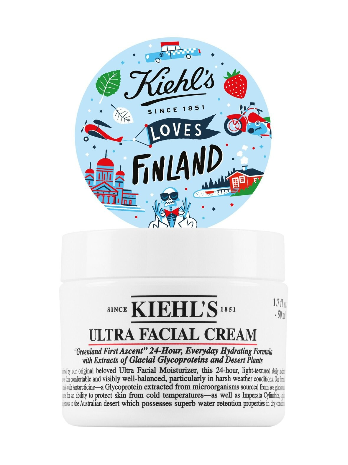 Kiehl's – Ultra Facial Cream -kosteusvoide, limited edition 50 ml