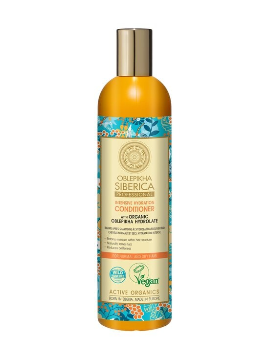 Natura Siberica - Organic Oblepikha Hydrolate For Normal And Dry Hair -hoitoaine 400 ml   Stockmann - photo 1