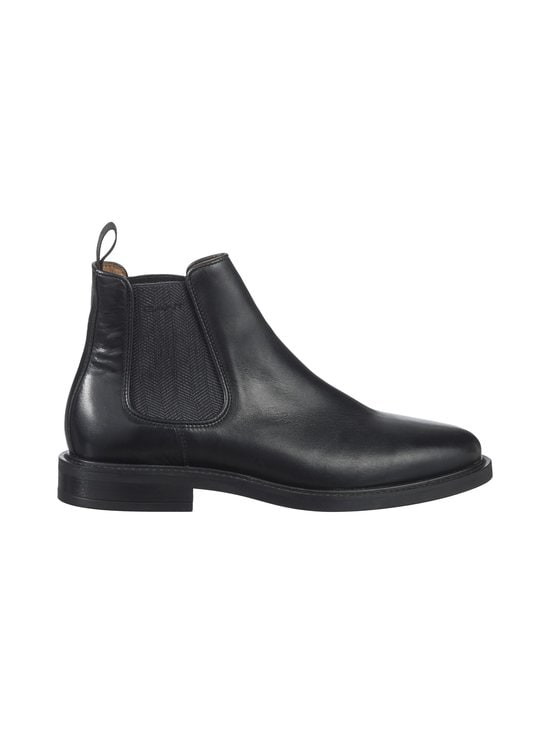 GANT - St Akron -nahkanilkkurit - G00 BLACK / 5 BLACK | Stockmann - photo 1