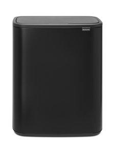 Brabantia - Bo Touch Bin -roska-astia 2 x 30 l - MATT BLACK | Stockmann
