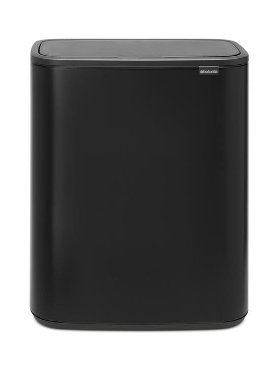 Brabantia - Bo Touch Bin -roska-astia 2 x 30 l - MATT BLACK | Stockmann - photo 1