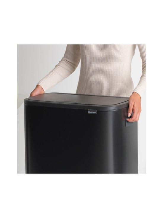 Brabantia - Bo Touch Bin -roska-astia 2 x 30 l - MATT BLACK | Stockmann - photo 6