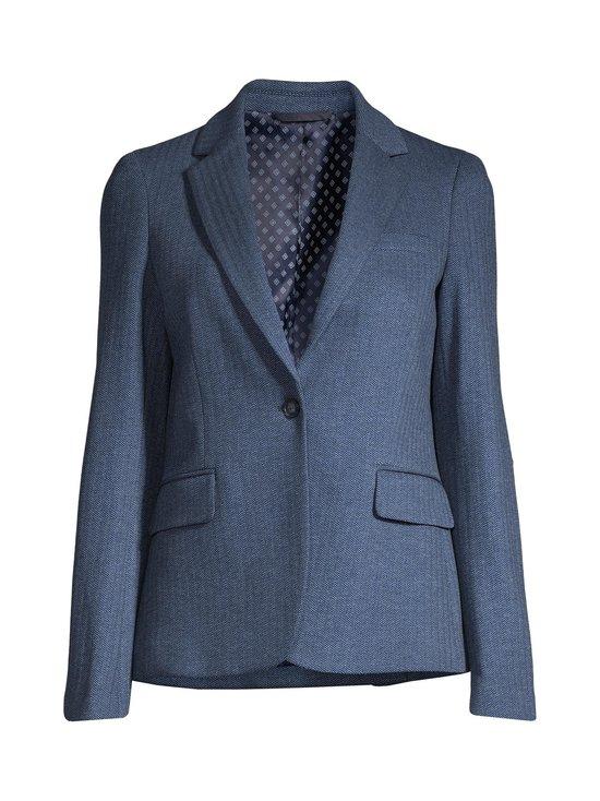 GANT - Herringbone Jersey Slim -bleiseri - 423 PERSIAN BLUE | Stockmann - photo 1