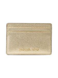 Michael Michael Kors - Jet Set Card Holder -korttikotelo - 740 PALE GOLD   Stockmann