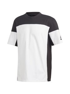 adidas Performance - ZNE TEE -paita - WHITE/BLACK | Stockmann