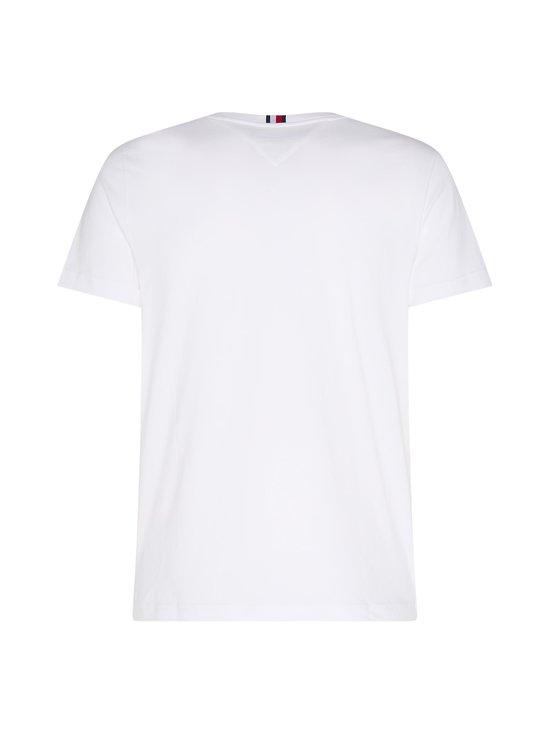 Tommy Hilfiger - Organic Cotton Flag T-Shirt -paita - YBR WHITE   Stockmann - photo 2