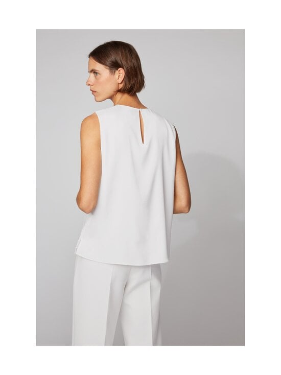 BOSS - Iesana-silkkipusero - 112 OPEN WHITE | Stockmann - photo 3