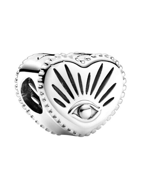 Pandora - All-seeing Eye & Heart Charm -hela - SILVER | Stockmann - photo 1