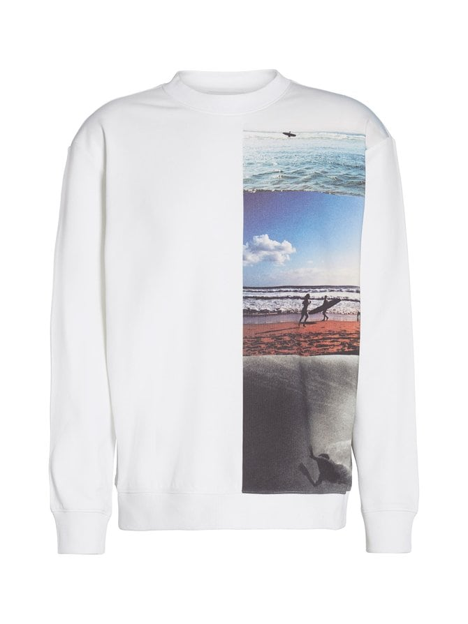 Photo Vertical Image Crew Neck -collegepaita