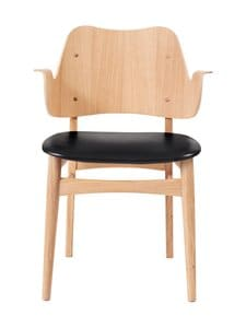 Warm Nordic - Gesture Dining -tuoli - BLACK PRESCOTT LEATHER   Stockmann