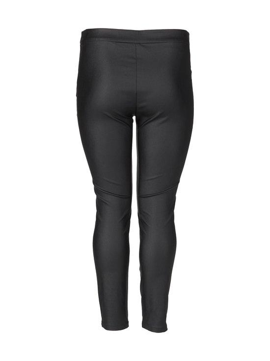 cut & pret PLUS - Nella Plus Coated -leggingsit - BLACK   Stockmann - photo 2
