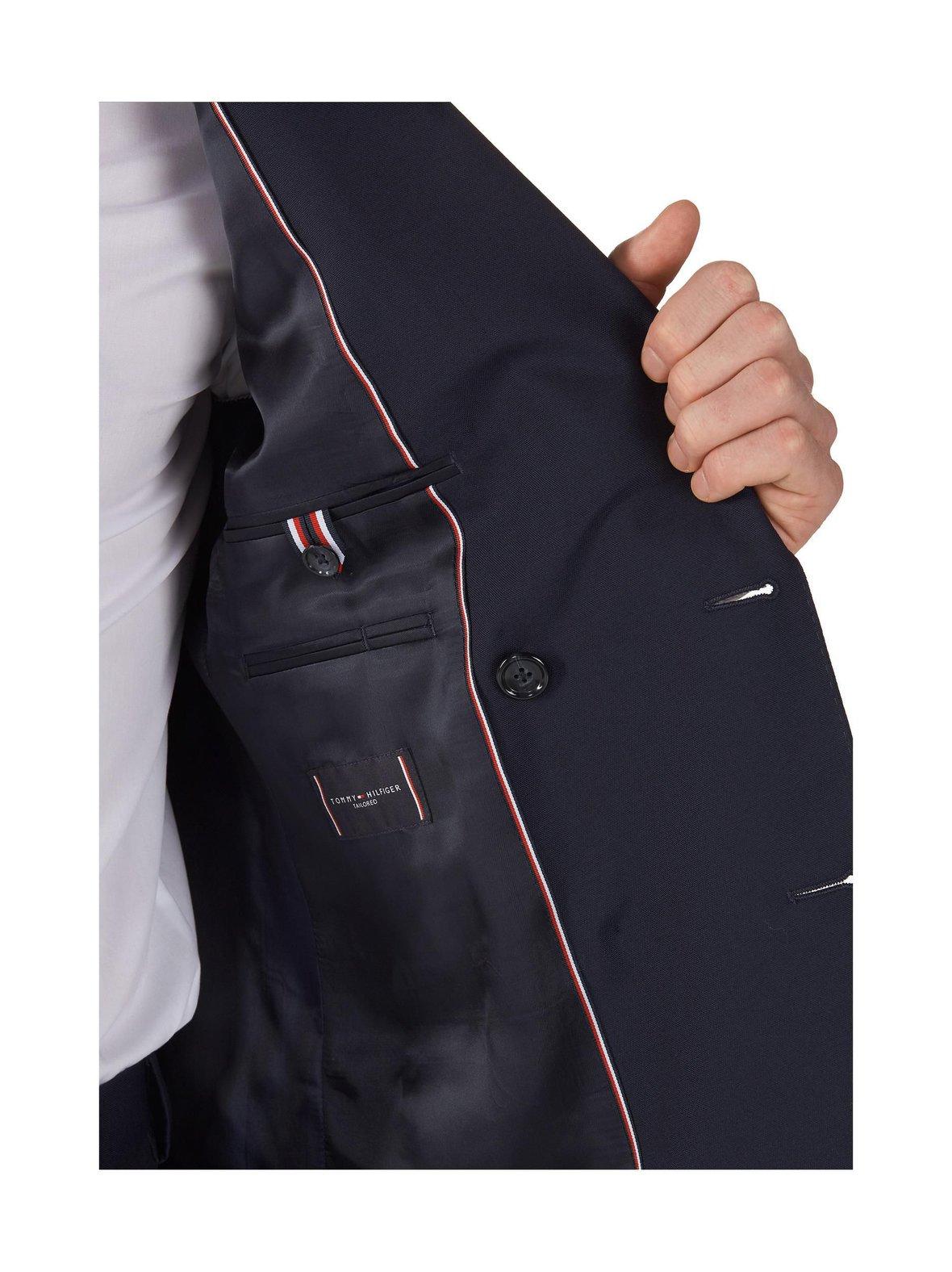 Tummansininen Tommy Hilfiger Tailored Th Flex Slim fit -puku  74fc9ed688