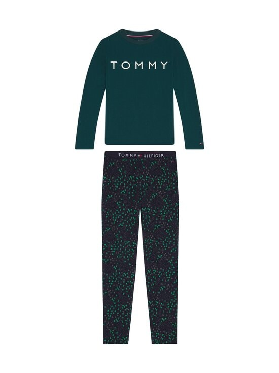 Tommy Hilfiger - Pyjama - 0T7 CYPRESS GREEN/DESERT SKY | Stockmann - photo 1